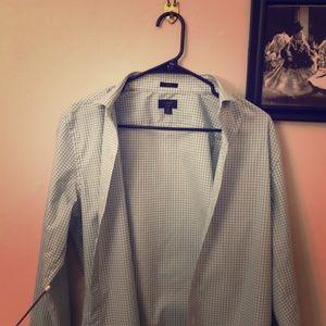 J Crew Shirt (slim; 15/33). made in Mauritius